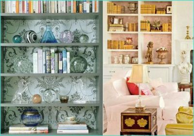 1000+ ideas about Wallpaper Bookshelf on Pinterest | Fireplaces For Sale, Neutral Wallpaper and ...