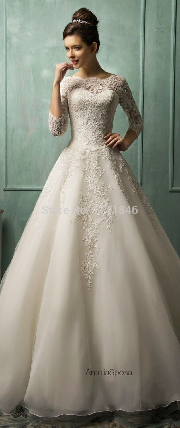 lacy wedding dresses affordable wedding dresses The Most Flattering Wedding Dresses