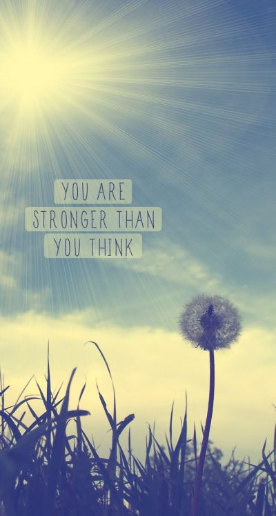 Tap on image for more inspiring quotes! You Are Strong - iPhone Inspirational & motivational ...