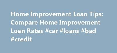 25+ Best Ideas about Home Improvement Loans on Pinterest | Sustainable environment, Money saving ...