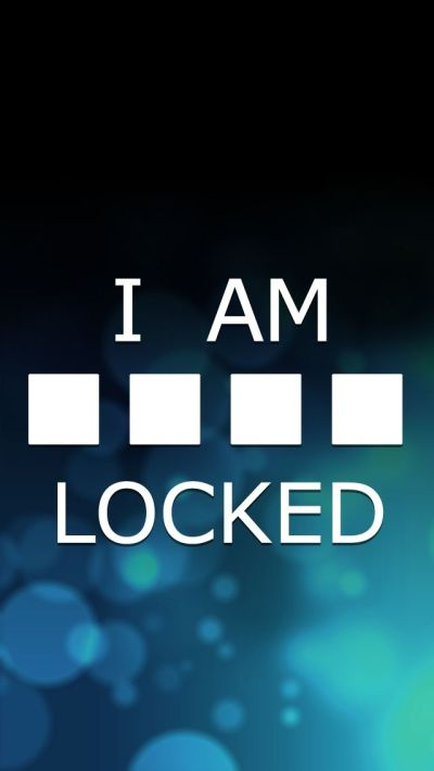 I am Locked iPhone5 Wallpaper (640x1136) | Wallpaper for iPhone | Pinterest | Awesome, Wallpaper ...