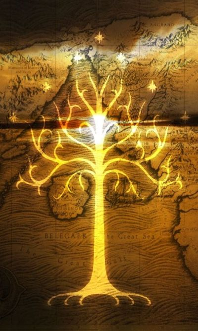 Lord of the Rings Phone Wallpaper | Phone Wallpapers | Pinterest | Samsung, White trees and The ...