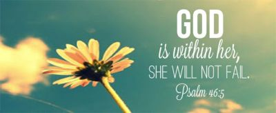 Psalm 46:5 | W O R D S | Pinterest | Psalm 46, Psalms and Wall murals