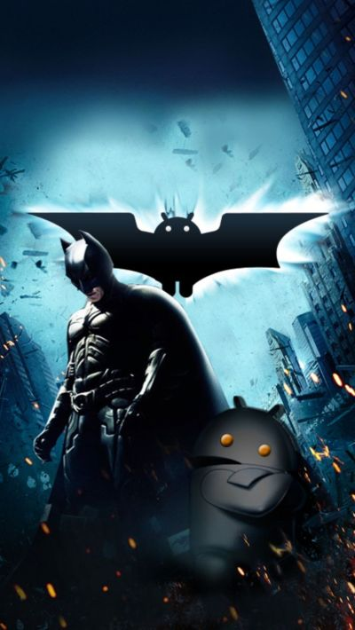 Batman and Android Mobile Wallpaper 3692 | Mobile ...