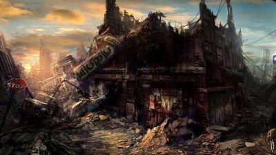 Sci Fi - Post Apocalyptic Wallpaper | Post-Apocalyptia | Pinterest | Desktop backgrounds, Posts ...