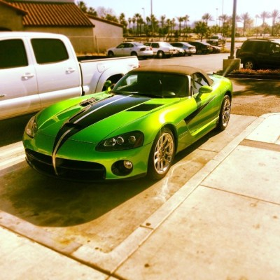 Mean green Dodge viper!   Luxury Car Lifestyle   Pinterest ...