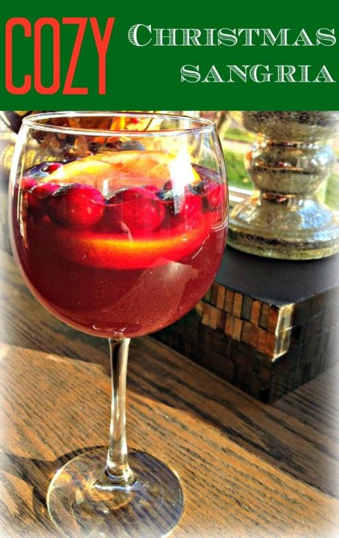 Cozy Christmas Sangria Recipe:
