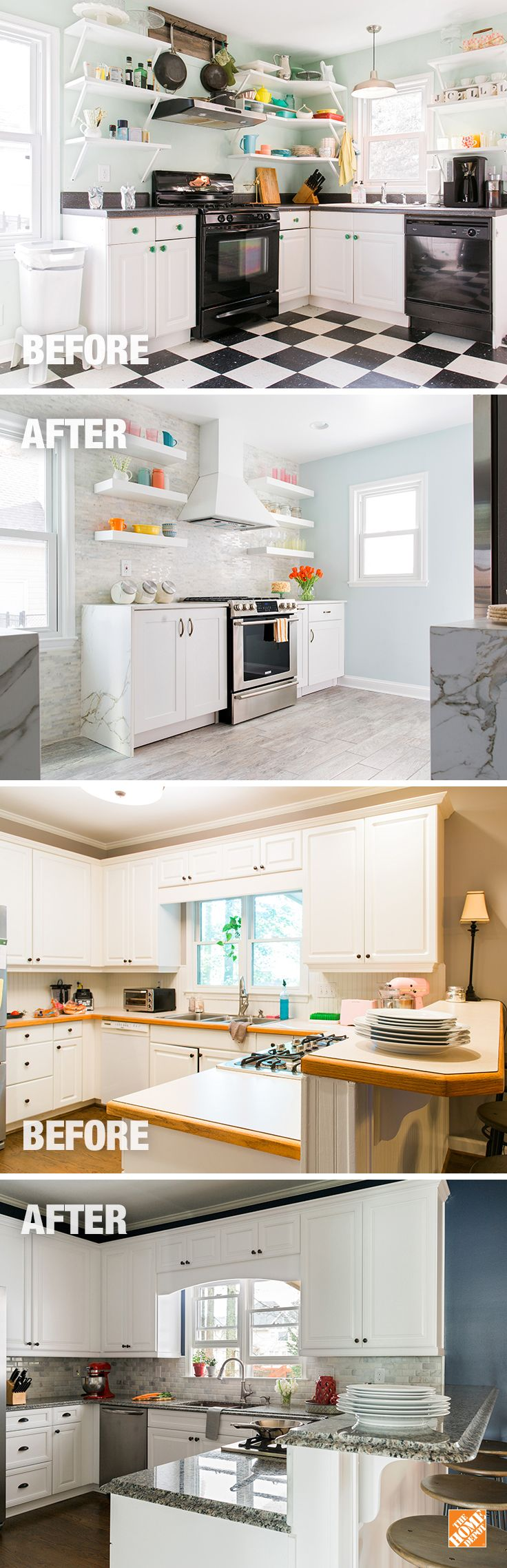 kitchen ideas inspiration home depot kitchen design Get inspiration with The Home Depot s thoughtful Kitchen designs From renovation ideas to a Kitchen remodel find the best ideas in one place