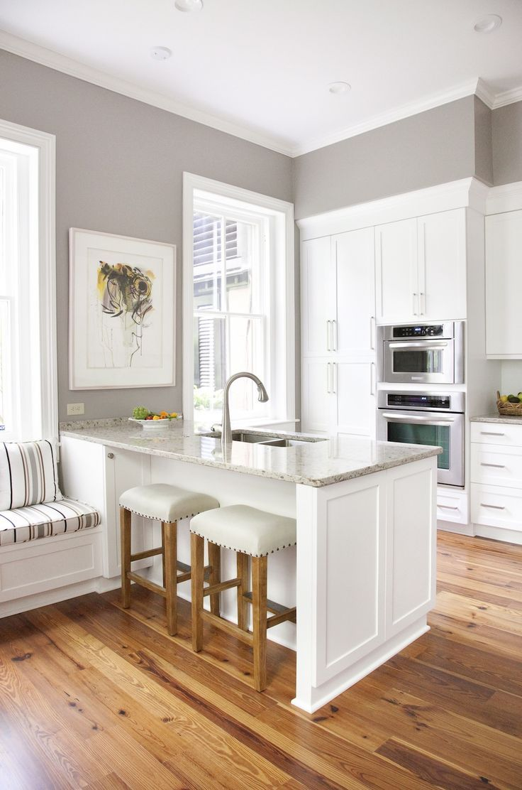 paint wood floors kitchen wood floors I love the general scheme of neutral colors with the wood being the most saturated part