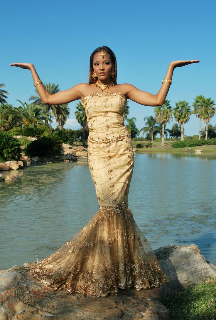 african dresses wedding gown african american wedding dresses Creates Wedding Dresses Mixed with African Style Wedding Dresses