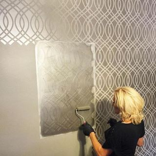Best 20+ Stencils for painting ideas on Pinterest