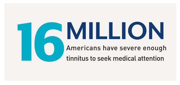 About 12 million people seek medical help for severe tinnitus every year 3