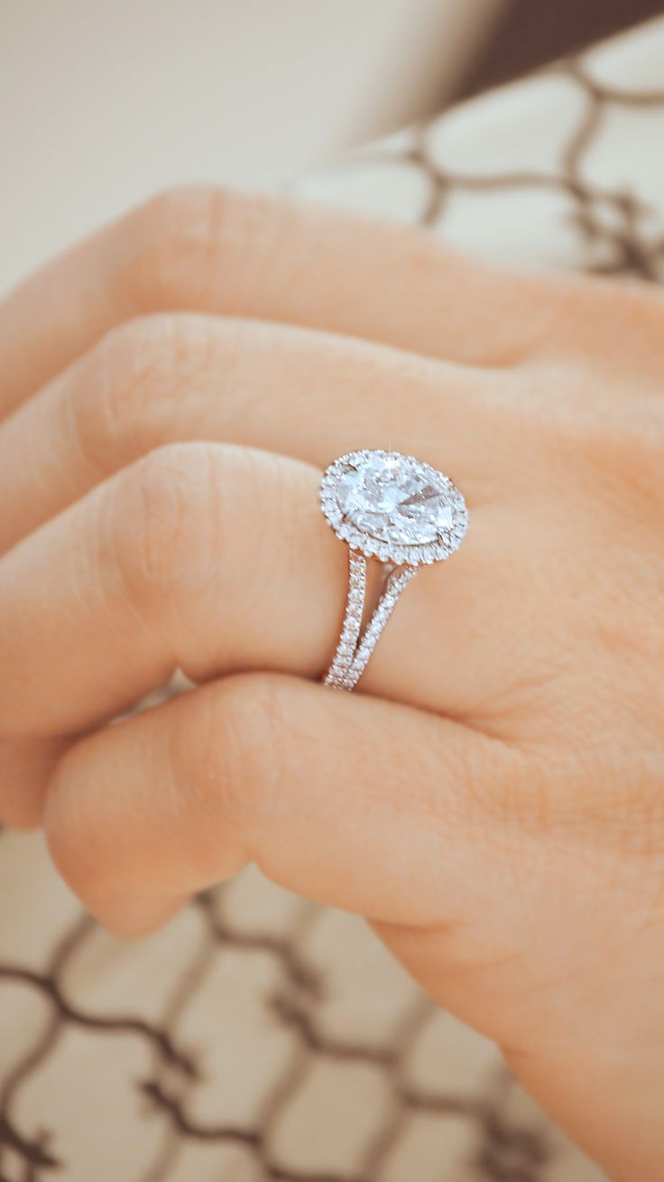 beautiful engagement rings beautiful wedding bands Compliments will be endless when wearing this beautiful Oval Halo Diamond Engagement Ring by Ascot Diamonds