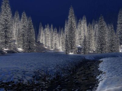 christmas scenery | Free Download HD Snowy Christmas Scene Wallpaper iPhone Wallpapers and ...