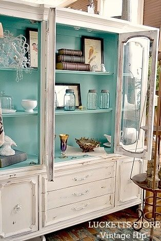 25+ best ideas about China cabinet painted on Pinterest | China cabinet redo, China hutch redo ...