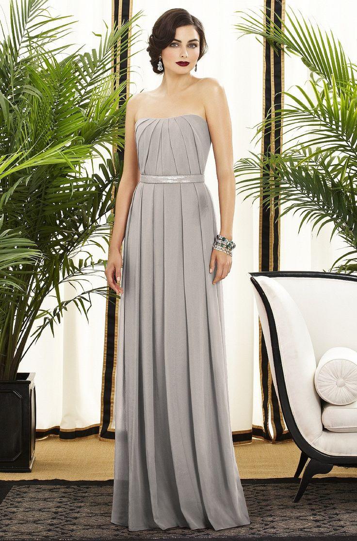 grey weddings gray dresses for wedding Dessy Bridesmaid Dress Weddington Way