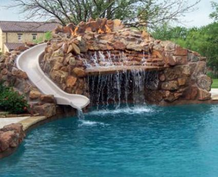 cool backyard swimming pools pool slidegreat slides safety with design inspiration
