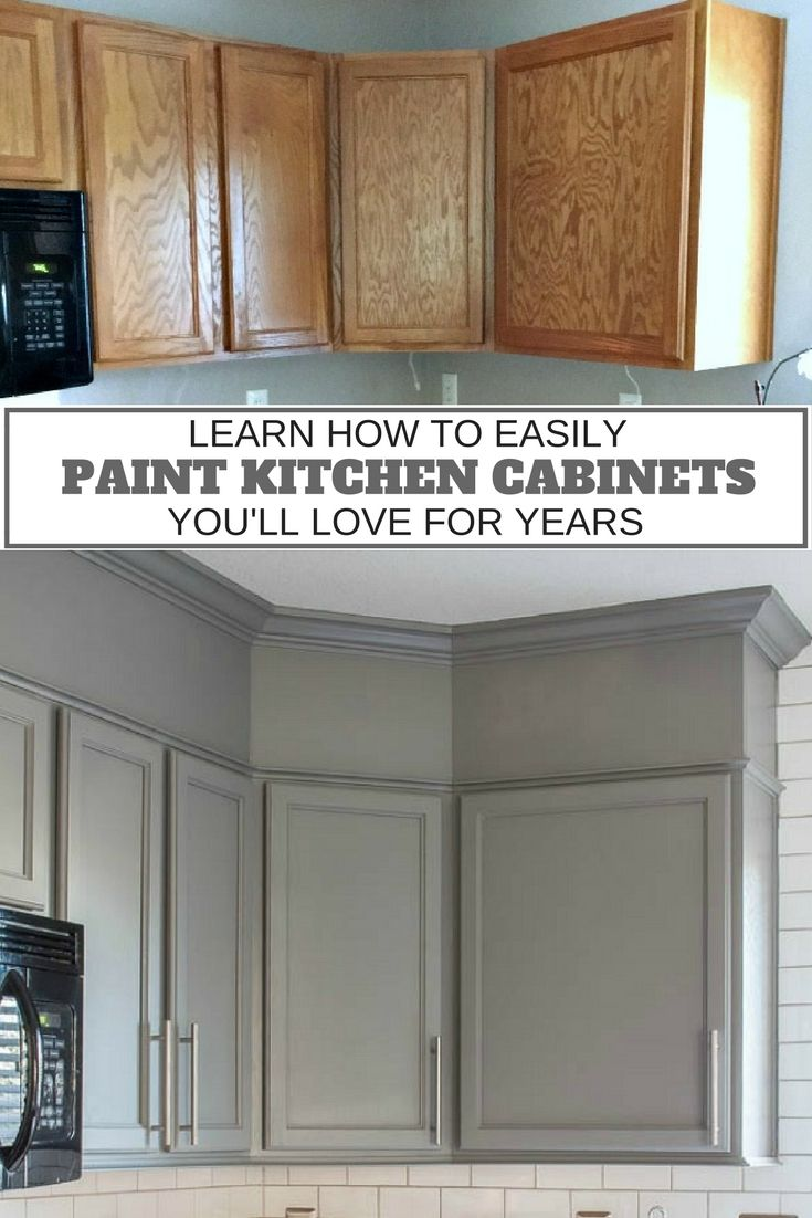 updating kitchen cabinets spray painting kitchen cabinets How to Easily Paint Kitchen Cabinets You Will Love
