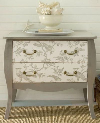 25+ Best Ideas about Wallpaper Furniture on Pinterest | Wallpaper dresser, Wallpaper drawers and ...