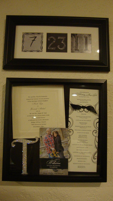 wedding shadow boxes wedding shadow box How to Create a Wedding Memory Shadowbox