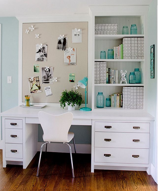 50 home office design ideas that will inspire productivity small desk built i