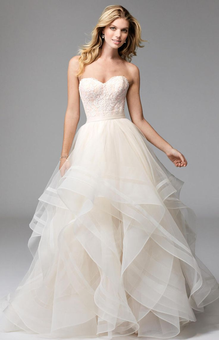 wtoo wedding dresses strapless tulle wedding dress Gorgeous Lace Takes Over Wtoo s Fall Collection Strapless Sweetheart NecklineSweetheart Wedding DressFall