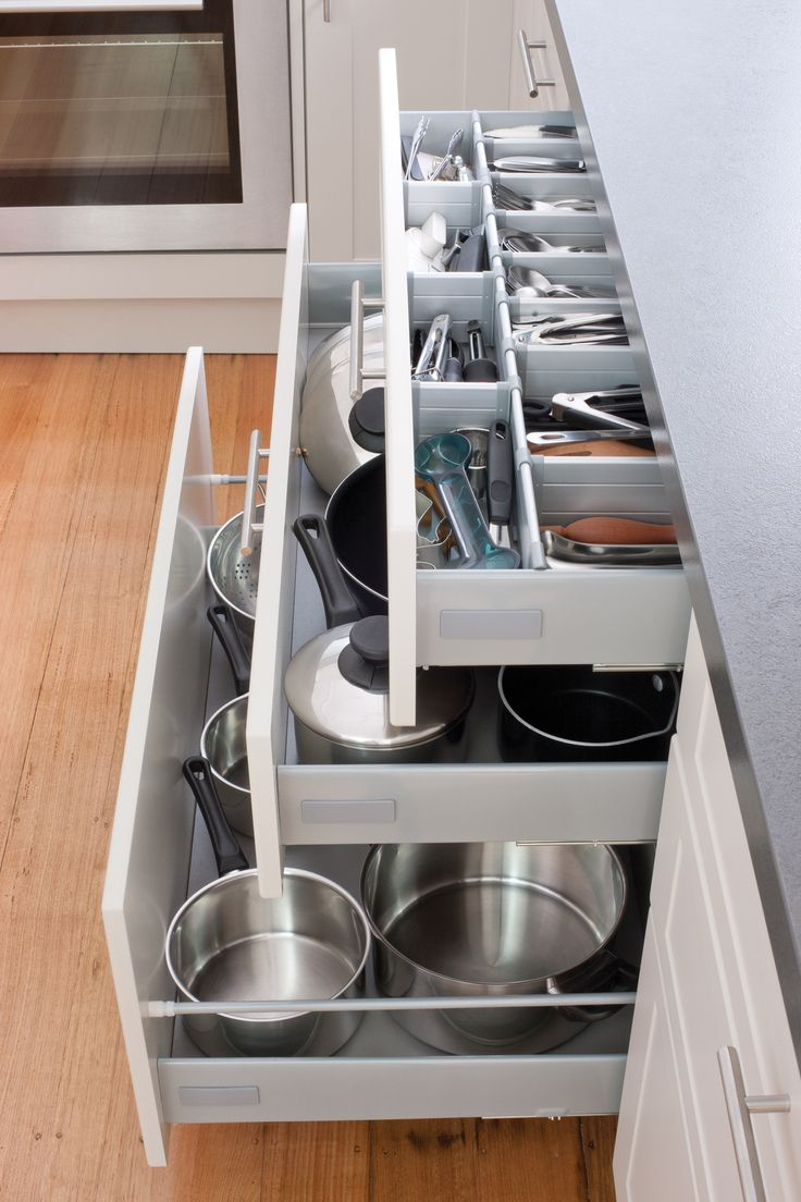 kitchen drawers kitchen cabinet drawers Keep your kitchen in order with our pot drawers and cutlery drawers Visit kaboodle