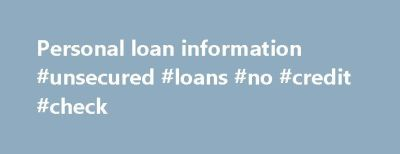 17 Best ideas about Loan With No Credit on Pinterest | Loans for students, No credit loans and ...