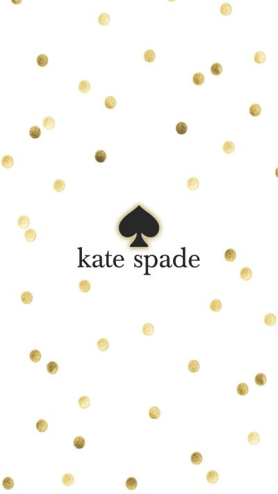 Kate spade gold iPhone Wallpaper Background | Illustration | Pinterest | Wallpaper Backgrounds ...
