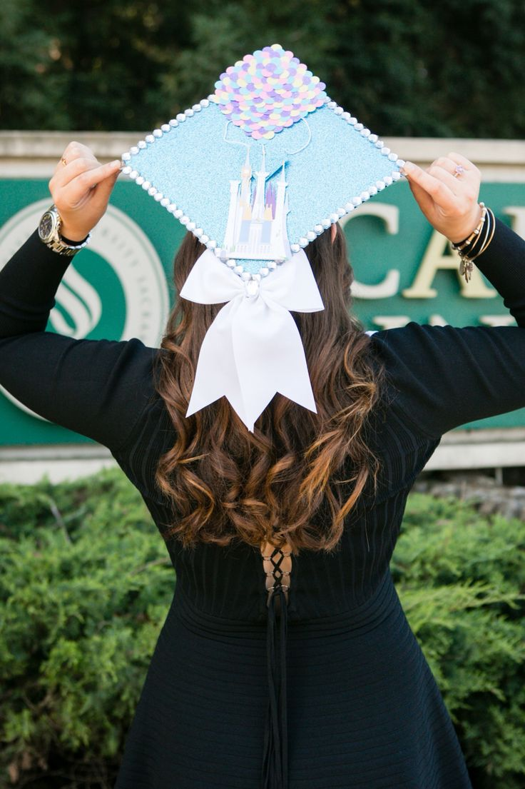 Fullsize Of Disney Graduation Cap