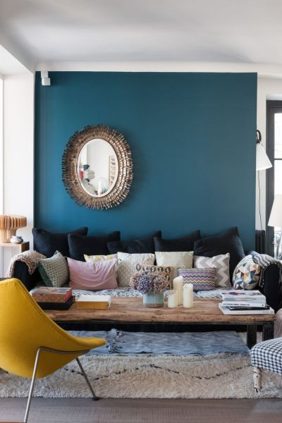17 Best ideas about Funky Living Rooms on Pinterest | Boho living room, Bohemian interior and ...