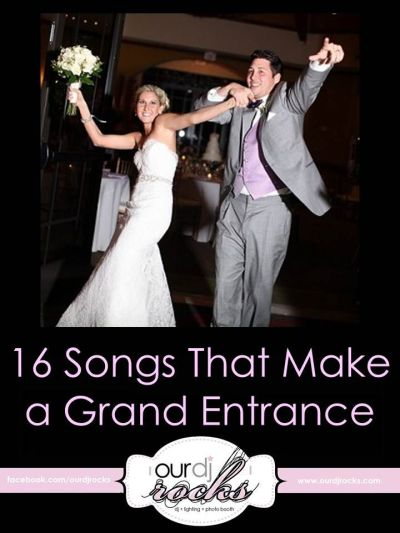 25+ best ideas about Reception Entrance Songs on Pinterest ...