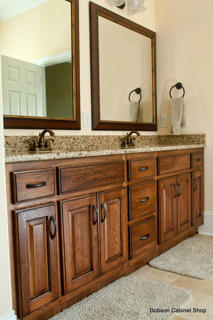 medium kitchen staining kitchen cabinets hickory kitchen cabinets with glaze Medium Hickory Vanity