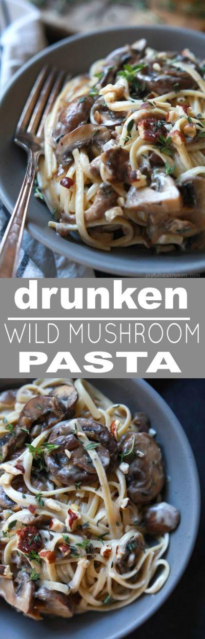 Drunken Wild Mushroom Pasta   Recipe   Sauces, Cheese and 331