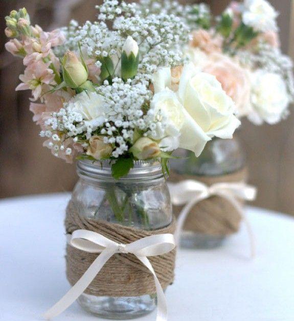 Shabby Chic, Rustic Vintage Wedding , DIY Wedding Ideas and Inspirations | Wed M