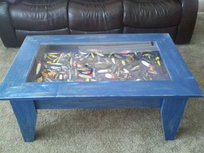 Custom Coffee Table with hinged Lift Top to by JermCreationz, $300.00 | Home stuff | Pinterest ...