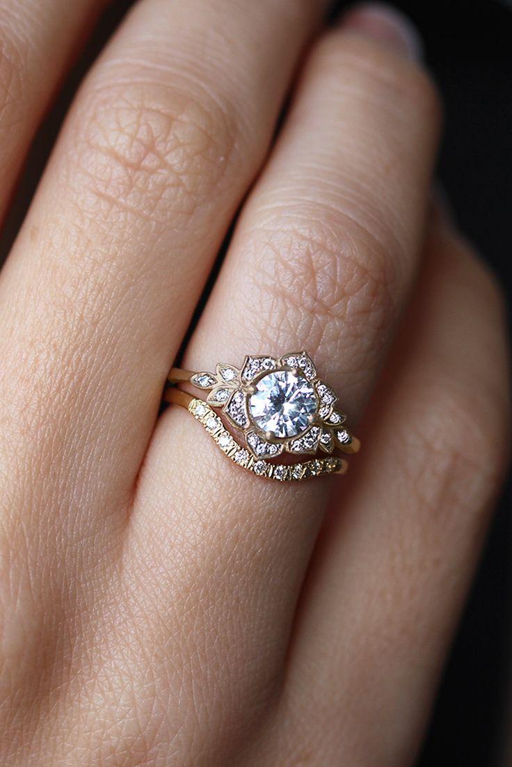 engagement rings unique different wedding rings 25 Best Ideas about Engagement Rings Unique on Pinterest Unique wedding rings Wedding ring and Love shape