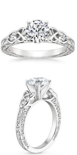 celtic engagement rings celtic wedding ring Find this Pin and more on wedding day