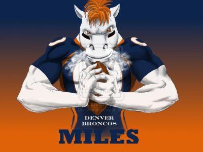 Denver Broncos Miles Cool Art Wallpaper | Football Team Pictures | Pinterest | Denver, Babies ...
