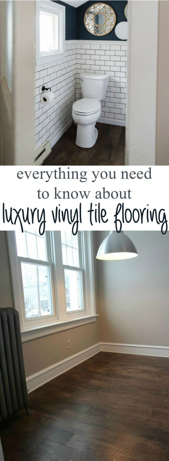 vinyl tile backsplash kitchen tile floor ideas Why we chose luxury vinyl tile