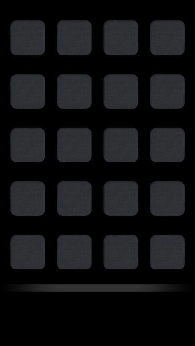 Plain Black Shelf Iphone 5 Icon Wallpaper | Wallpaper | Pinterest | Shelves, Icons and iPhone ...