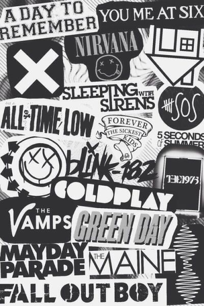 tumblr iphone wallpapers black and white - Buscar con Google | Bandas | Pinterest | iPhone ...
