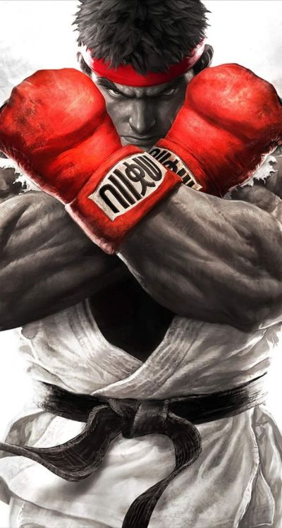 ryu-street-fighter-wallpaper-for-iphone-5-5s-86-708.jpg (744×1392) | FGC | Pinterest