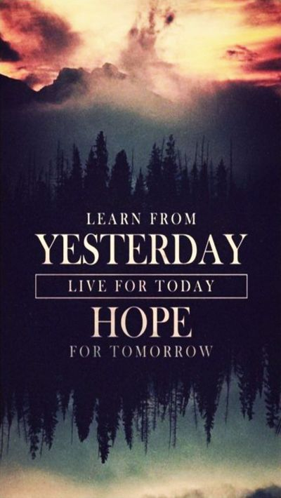 Tap image for more iPhone quote wallpapers! Hope for Tomorrow - @mobile9 | Inspiring quotes ...