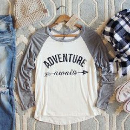 Adventure Awaits Tee: