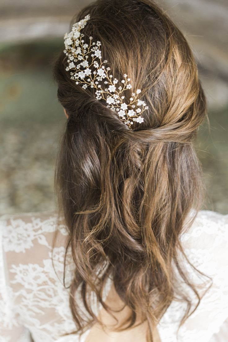 bridal hairpiece wedding hair combs Hermione Harbutt Violette Hairpins Amy Fanton Photography bridal hairpiece wedding
