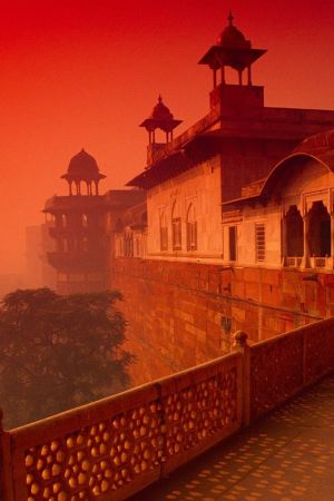 Agra Red Fort, Old Delhi, India - another stunning creation from the 17th century Mughal emperor, Shah Jahan, who also   built the Taj Mahal for his great love Mumtaz Mahal. Great for: culture, views, architecture, and (not) escaping the crowds!