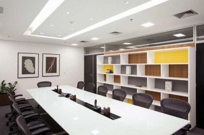 White Decoration Business Conference Room With 22 Cozy Office And Meeting Room Design Ideas ...