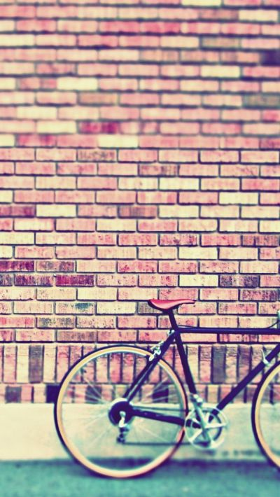 Vintage Bike #iPhoneWallpaper | iPhone Wallpapers | Pinterest | Fixie, Bicycles and Vintage bikes