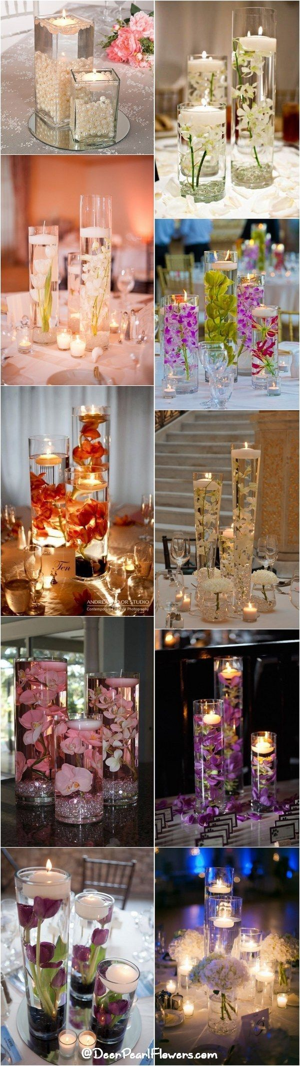 wedding centerpieces centerpieces for wedding 20 Impossibly Romantic Floating Wedding Centerpieces